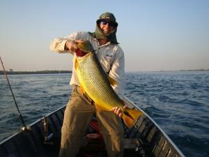 Pescaria de dourado.